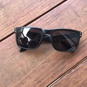 Matte Black Oakley Holbrook Sunglasses